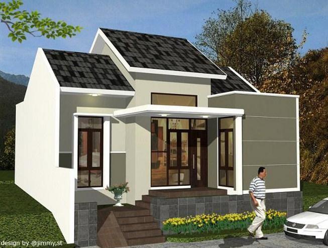 60 Gambar Rumah Minimalis 1 Lantai Tampak Depan Dan Warna Cat Pilihan Rumah Minimalis Dekorasi Minimalis Desain Rumah