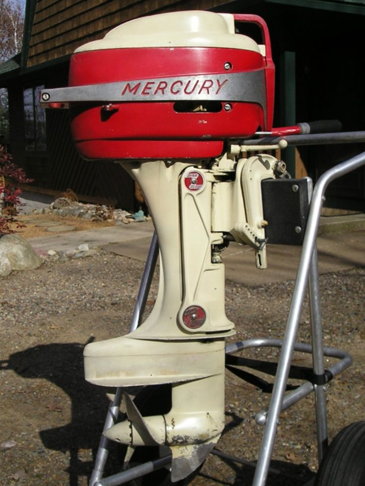 Vintage outboard motor vintage marine nautical and for Buy new mercury outboard motor