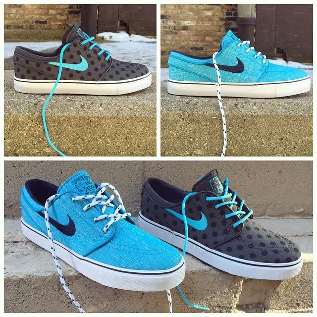 New Arrival Nike Skateboarding Zoom Stefan Janoski Blue Lagoon