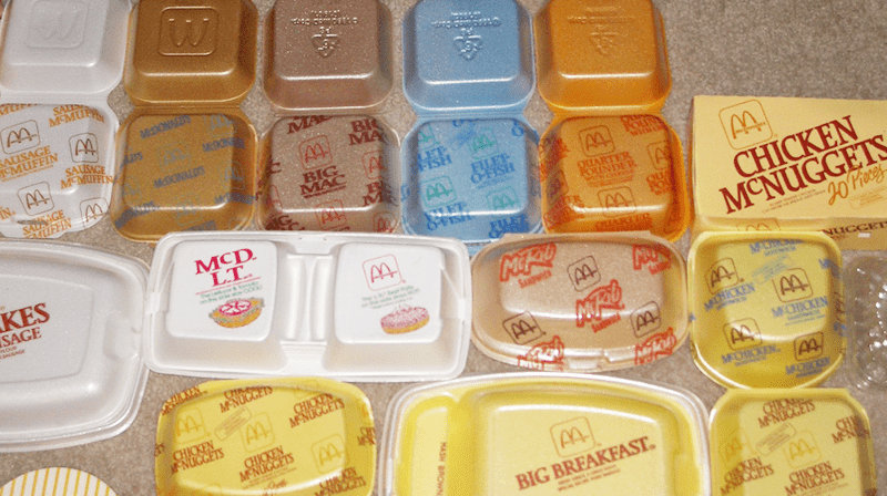 McDonald's packaging journey through time Childhood