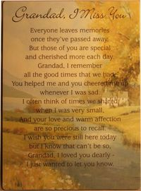 Rest in peace,Grandad | Quotes | Grandpa quotes, Goodbye ...