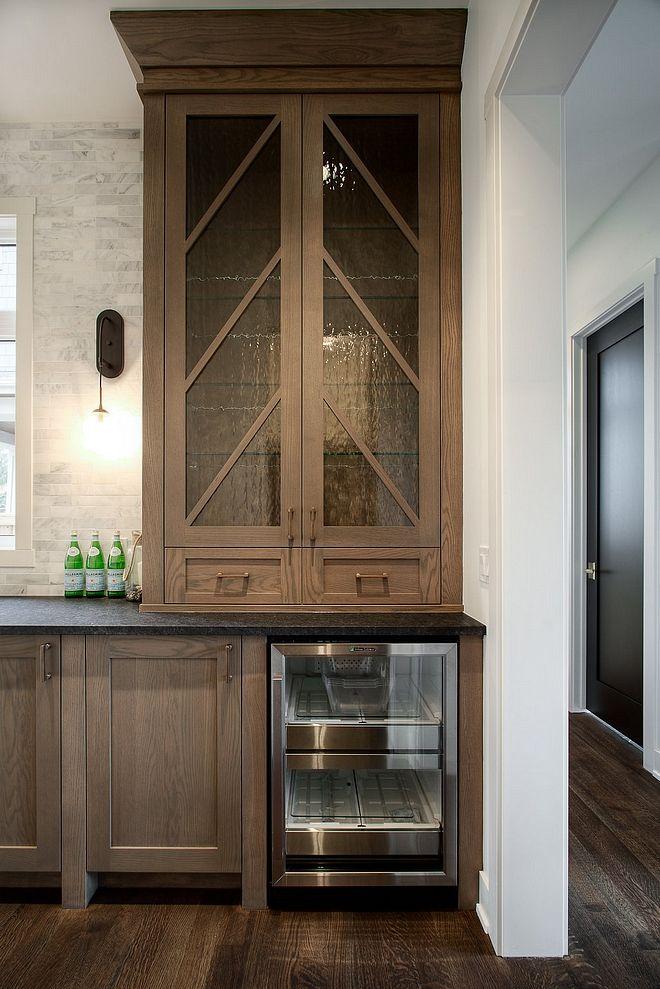 Glass Cabinet Door With Chevron Mullion Cabinet Mullion Cabinet