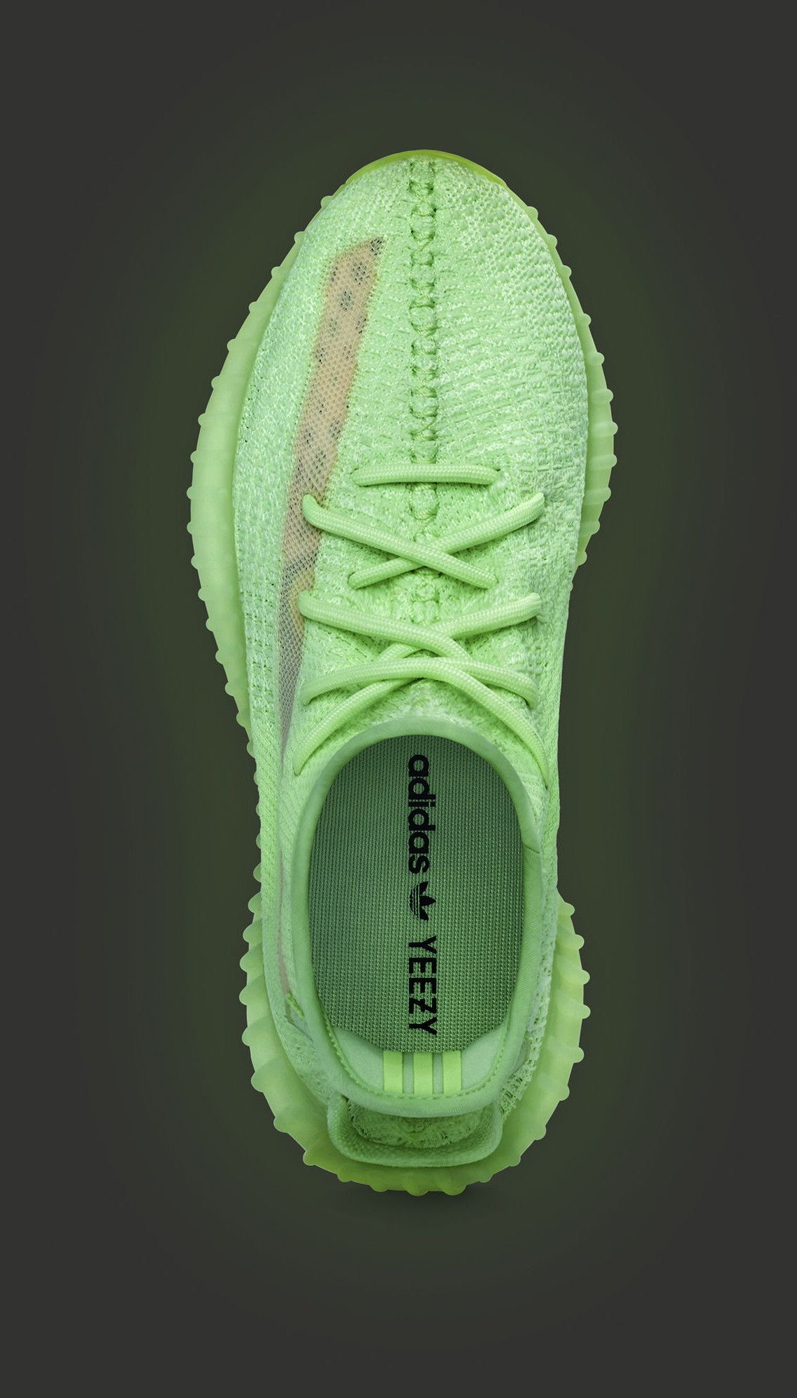 Official Images Of The adidas Yeezy Boost 350 v2 Glow #sneakers