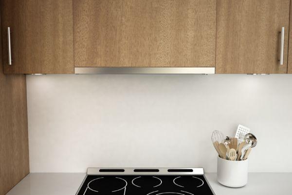 An Ultra Low Profile Range Hood Fine Homebuilding Under Cabinet Range Hoods Range Hood Kitchen Ventilation