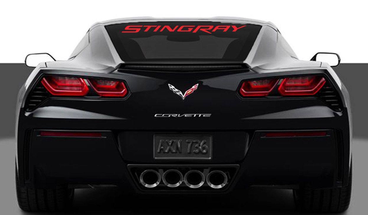 Chevy Corvette Stingray Rear Window Decal Corvette Stingray Chevy Corvette Chevrolet