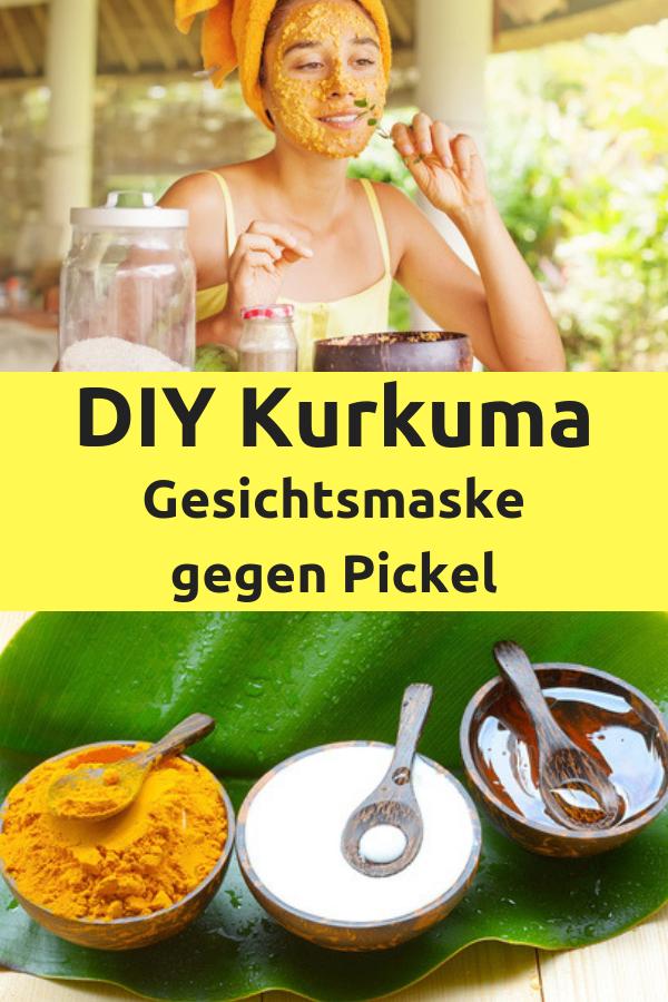 Kurkuma Gesichtsmaske Fur Eine Strahlende Haut Pinterest