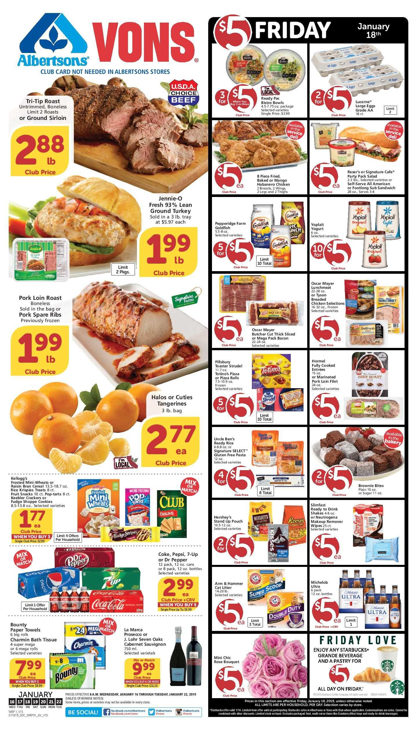 Vons Christmas Dinner 2020 Vons Weekly Ad Flyer 03/11/20 – 03/17/20 | Weeklyad123.