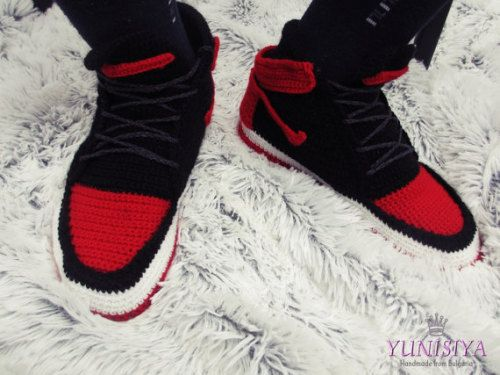 Buy Now Mens slippers Nike Air jordan Knitted shoes... | Knit ...