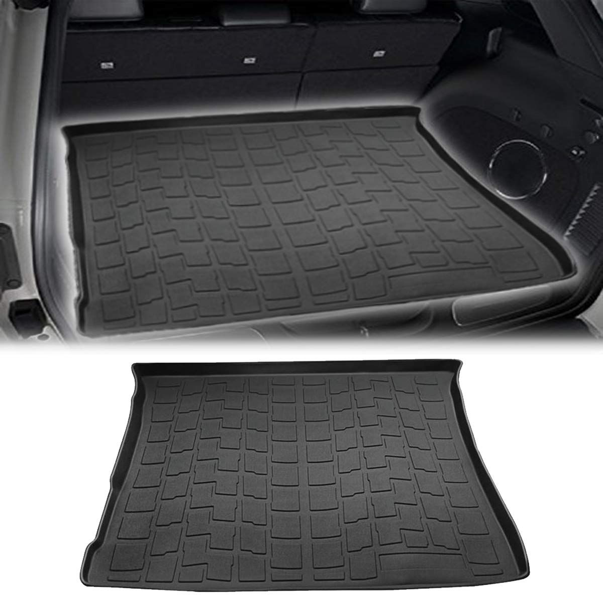 Moker Ultimate All Weather Cargo Liner Trunk Tray Floor Mat For