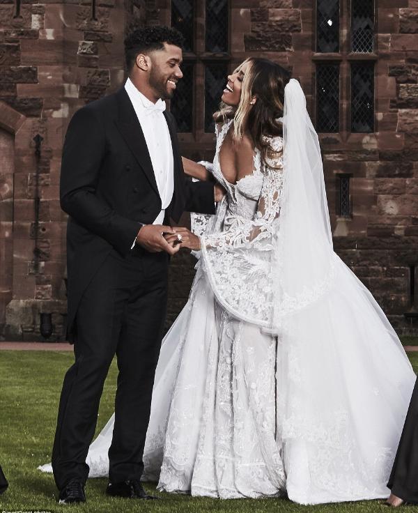 DEVOUTFASHION.  Congratulations  Ciara and Russell!