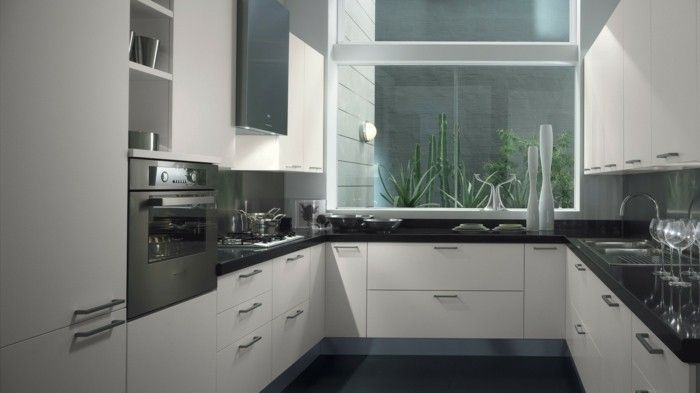 Cuisine blanche et inox: idées et astuces en 90 photos! | modem ...