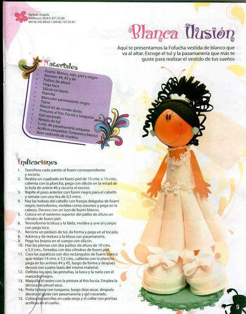 REVISTA DE FOFUCHAS con molde nº32 - Mary.9 - Álbumes web de Picasa