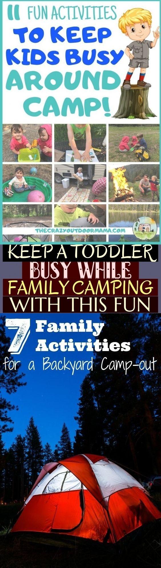 Keep A Toddler Busy While Family Camping With This Fun * halten sie ein kleinkind beschäftigt, wä