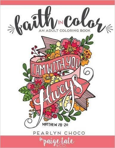 Faith in Color: An Adult Coloring Book | Coloring Books for Adults ...
