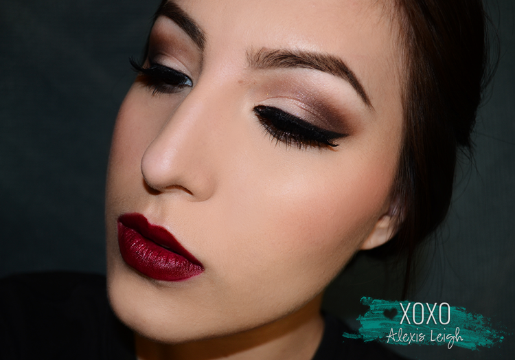 Christmas Party Makeup Tutorial // Makeup - - XOXO Alexis Leigh