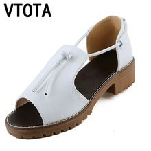 df126d76d8bd VTOTA Obuv ženy módne sandále Women Kliny Otvoriť Toe Platform Ženy Sandále  mäkké Pohodlné dámske topánky tenis Feminine X420 (Čína (pevninská časť))