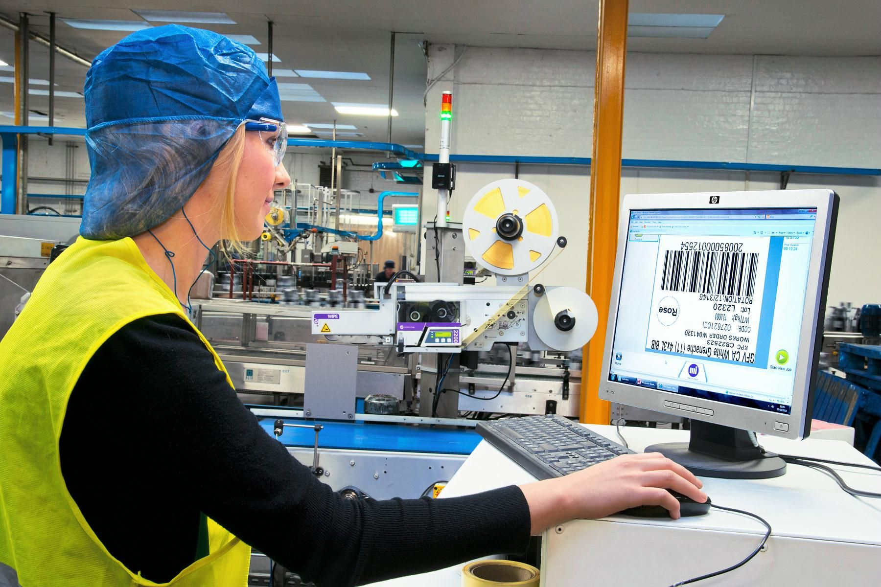 CoLOS software solutions on the Markem-Imaje Print and Apply 2200 ensure  product data integrity, central data management and an easy connection to  existing ...