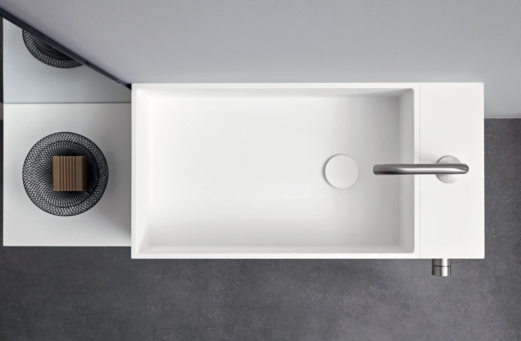 ARGO UNICO | Wall-mounted washbasin Unico Collection By ...