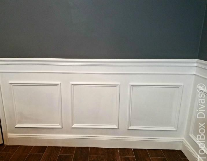 Simple DIY How To Install Wainscotting Or Picture Frame Moulding Determine Wainscoting WallDining Room