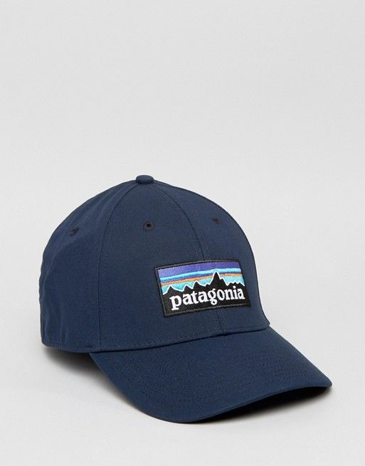 patagonia p6 trucker hat rei bison baseball cap in navy