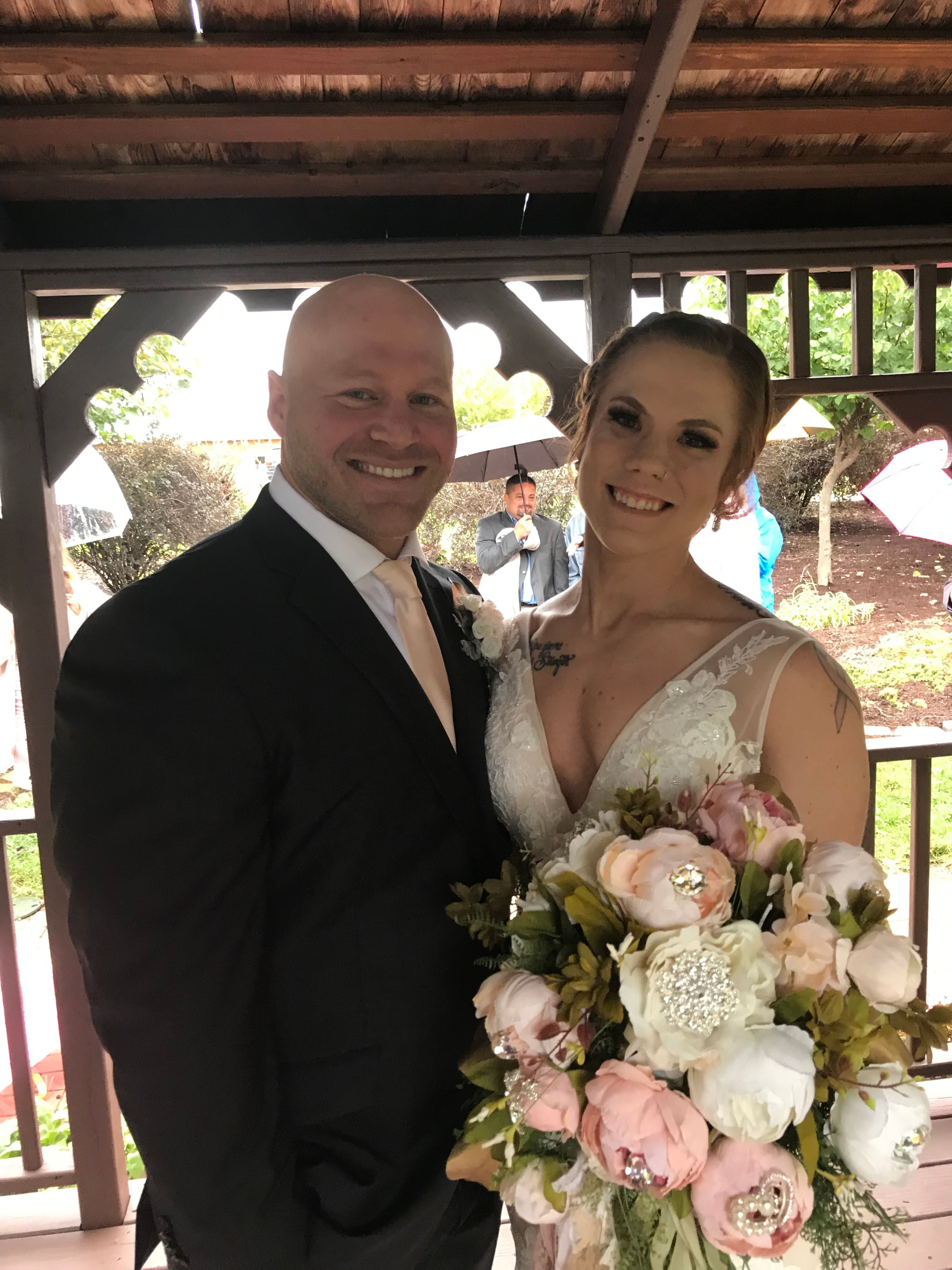 Alyssa and Steven Wedding officiant, Ceremony design