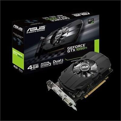 GeForce GTX1050TI 4GB HDMI 2.0 Graphic card, Asus, Hdmi
