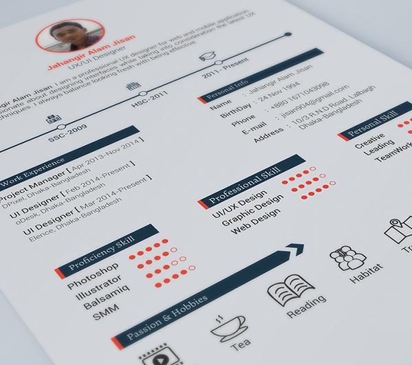 Free Resume Templates 2014 D00Acc22218501.5630Eaf630696  Yanti  Pinterest  Creative Cv .