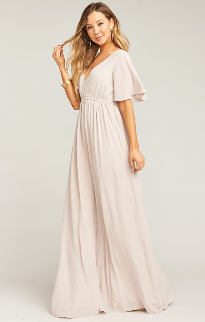 d893702c2f Emily Empire Maxi Dress Show Me The Ring Crisp in 2019 | Products ...