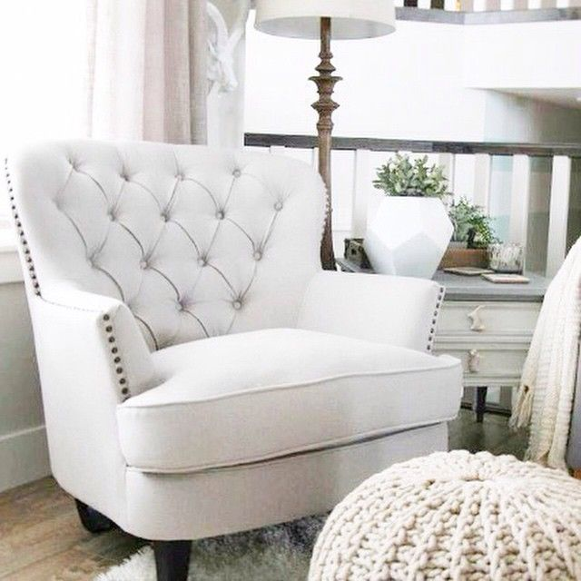 Style For A Steal Tufted Tiffany Chair From Costcoca - Costco ca bedroom furniture