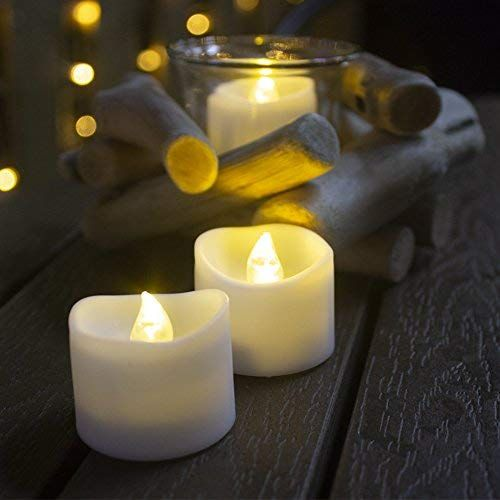 Tea Lights Flameless Led Tea Lights Candlesworking Hour 100ideal