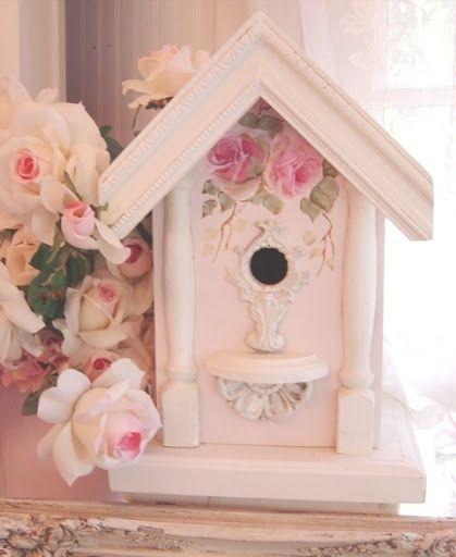 Rosy bird house