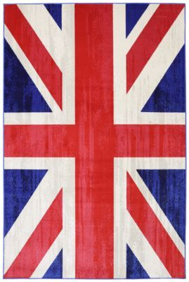 Union Jack rug by Mohawk Home