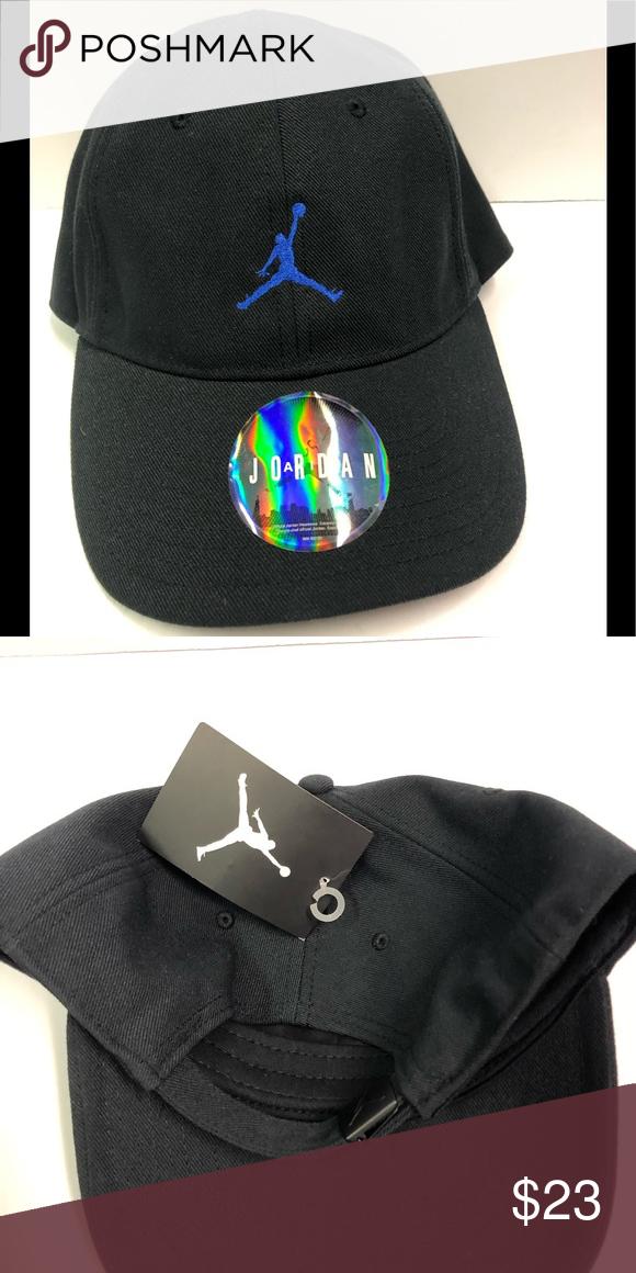 f6992217d Black Jordan brand dad hat Black Jordan Jumpman dad hat Jordan ...