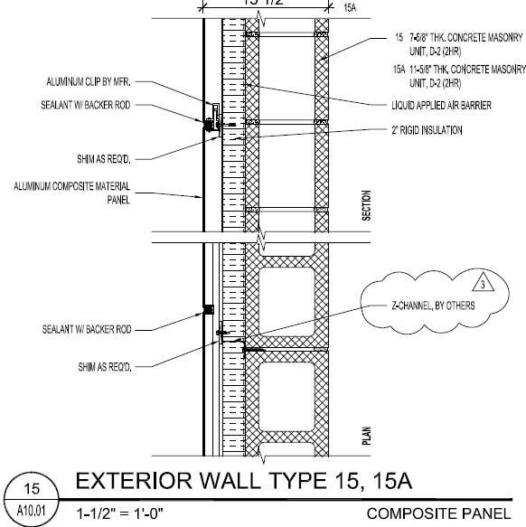 Wall Types Wall Section Detail How To Plan Masonry