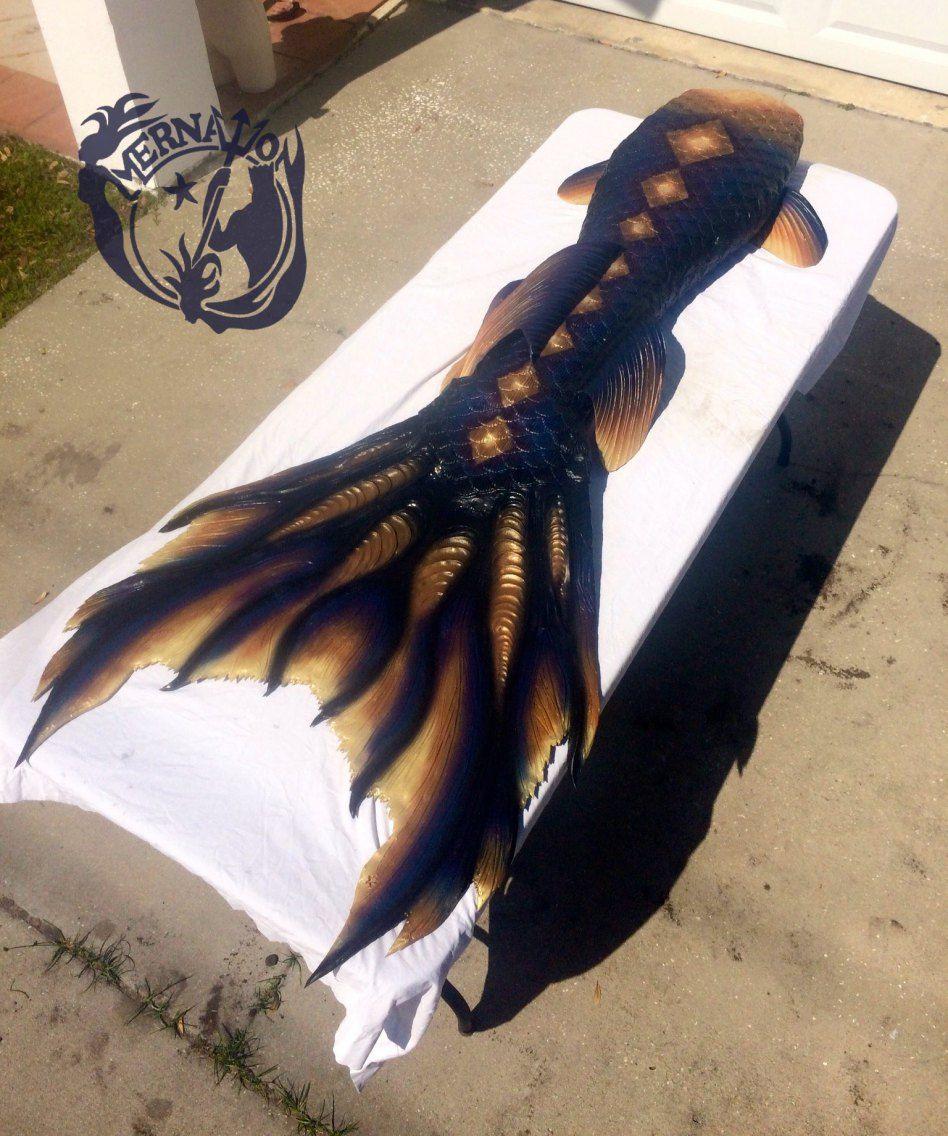 Mernation Mermaid tail, full dragonskin silicone. Featuring the Khaleesi fluke
