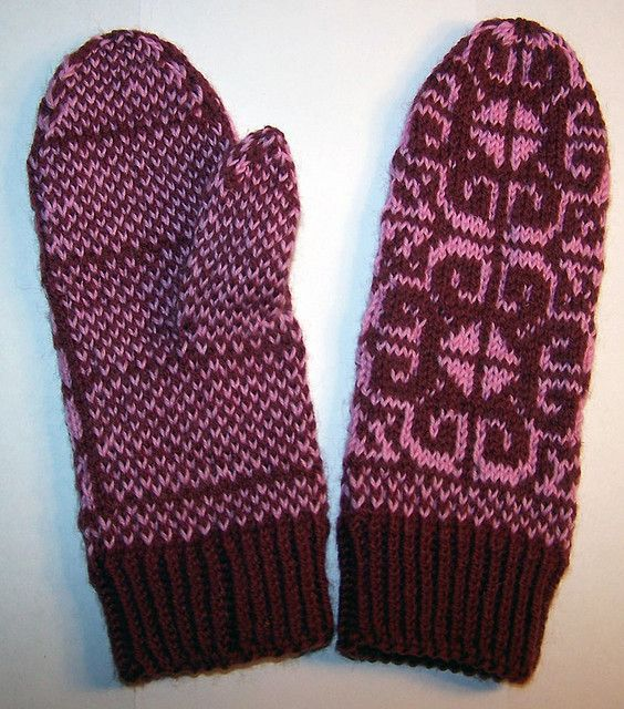 lootus mittens by milliini (Finnish and English + chart)