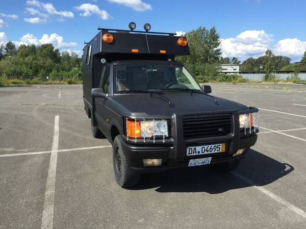 Adventures RV, Range Rover 4x4 Camper for sale Found this