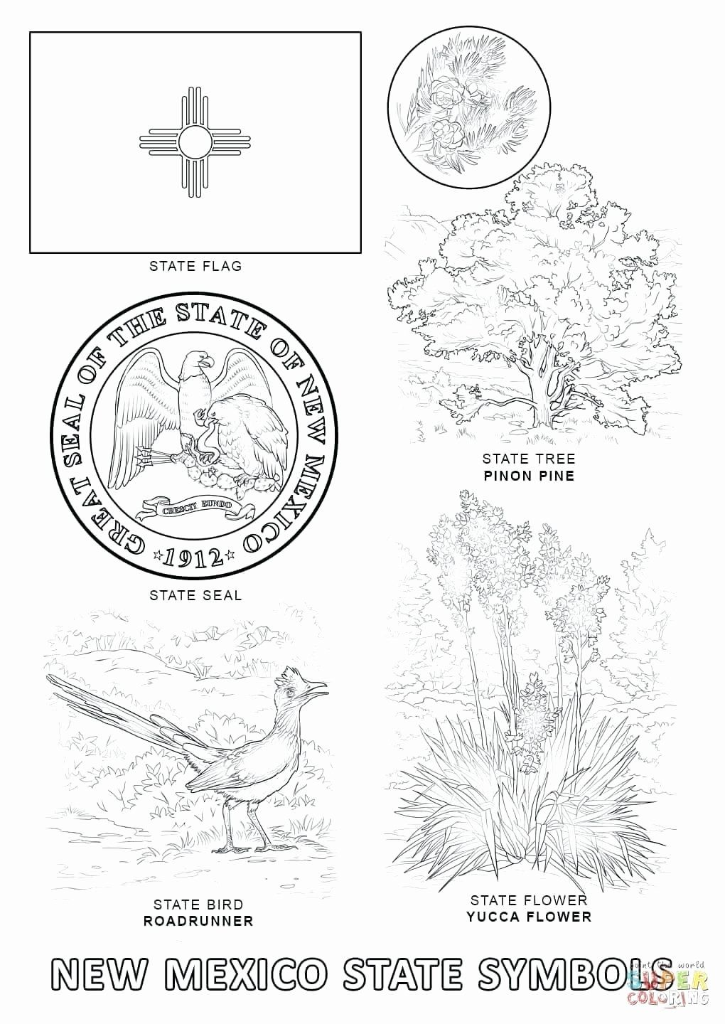 State Bird Coloring Pages Di 2020 Michigan