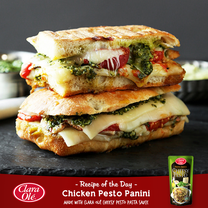 Turn up the panini grill and recreate this scrumptious Chicken Pesto Panini for the whole family to enjoy this Sunday! Learn how to make this here.