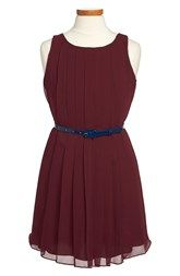 Ralph Lauren Pleated Sleeveless Dress (Toddler Girls, Little Girls & Big Girls)