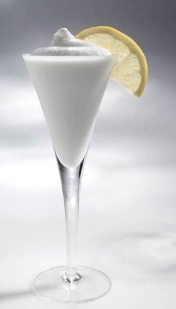 sgroppino al limone- frothy lemon sorbetto