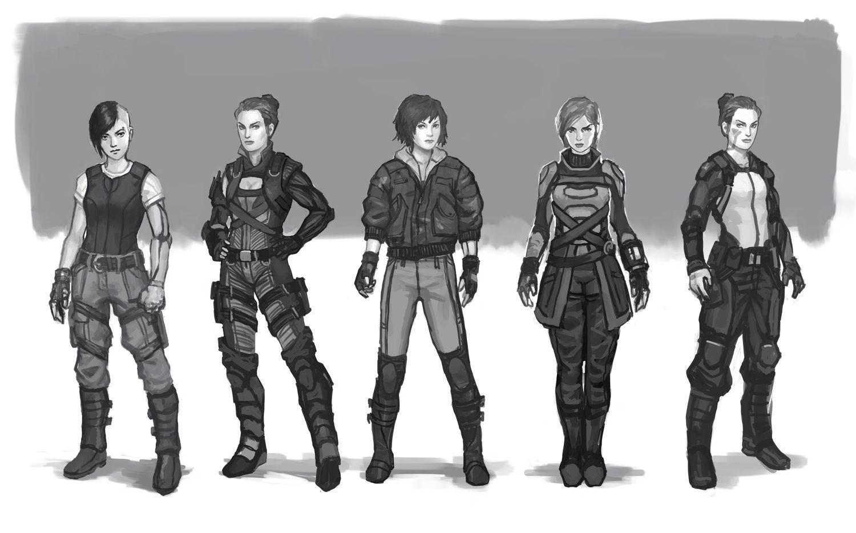 Ballistic Character Design Pdf : Female ballistic vest sci fi google search galactica