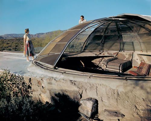 1950 Paolo Soleri And Mark Mills Woods Residence This Aluminum