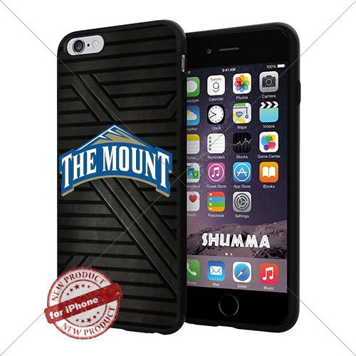 """NCAA-Mount St. Mary's Mountaineers,Cool iPhone 6 Plus (6+ , 5.5"""") Smartphone Case Cover Collector iphone TPU Rubber Case Black SHUMMA http://www.amazon.com/dp/B0130PYVHE/ref=cm_sw_r_pi_dp_iF24vb0Y1775B"""
