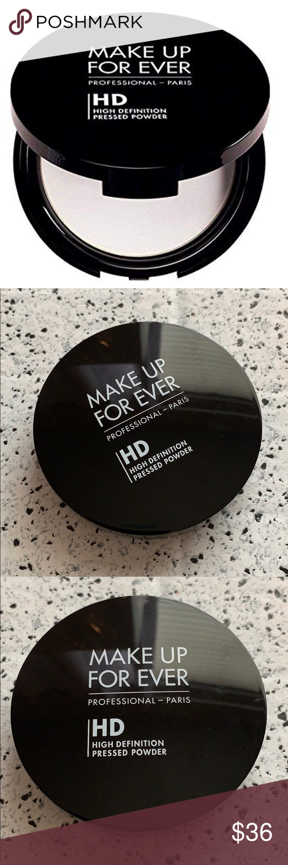 NEW Make Up For Ever Microfinish Pressed Powder in 2020