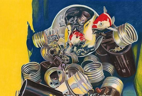 Bright Idea by Kenneth Woodworth (Pigment Print) | Artful Home