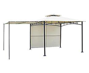 Gazebo/veranda in acciaio e poliestere Andria - 300x300 cm