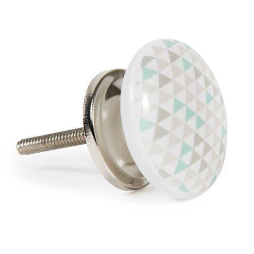 bouton de porte en céramique pastel elin | nouvel appart