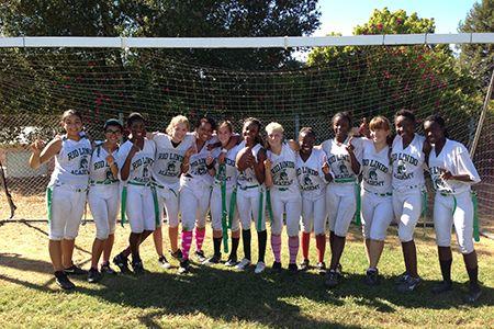 Spartan Girls Flag Football Rio Lindo Adventist Academy Healdsburg California Flag Football Football Girls Athlete