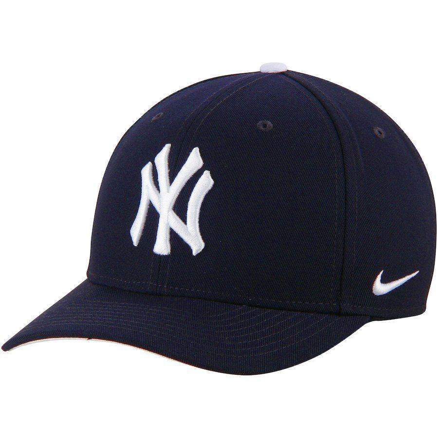 Men S New York Yankees Nike Navy Classic Adjustable Performance Hat Yankees Hat New York Yankees Yankee Baseball Outfit